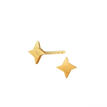 Scherning, Four Ray Star Stud Earrings, Tomfoolery