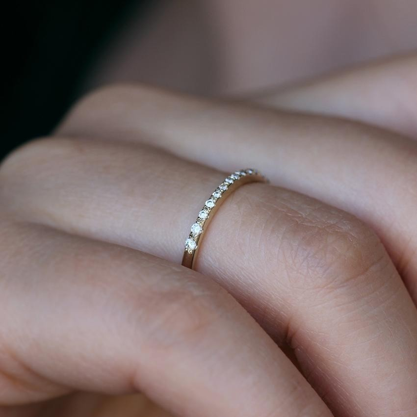 tomfoolery: micro pave band by artemer