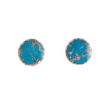 tomfoolery, speckled circle studs, dee barnes
