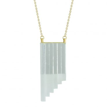 Rosa Mendez, Glass Gradient Necklace, Tomfoolery