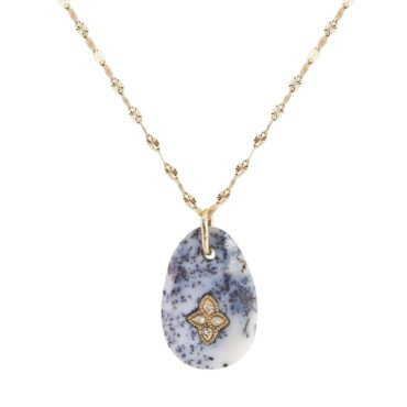 Pascale Monvoisin, 14ct Yellow Gold Gaia N°1 Pendant Necklace, Tomfoolery