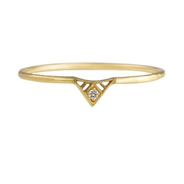 14ct Yellow Gold Diamond Marisol Ring, tomfoolery, dmd