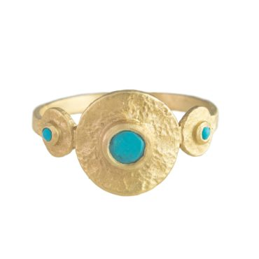 Mille Roma Turquoise Ring