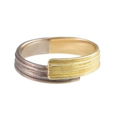 Marion Lebouteiller, Absolu 18ct Yellow & White Gold Extension Ring, Tomfoolery