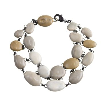 Double Row Ceramic Bracelet