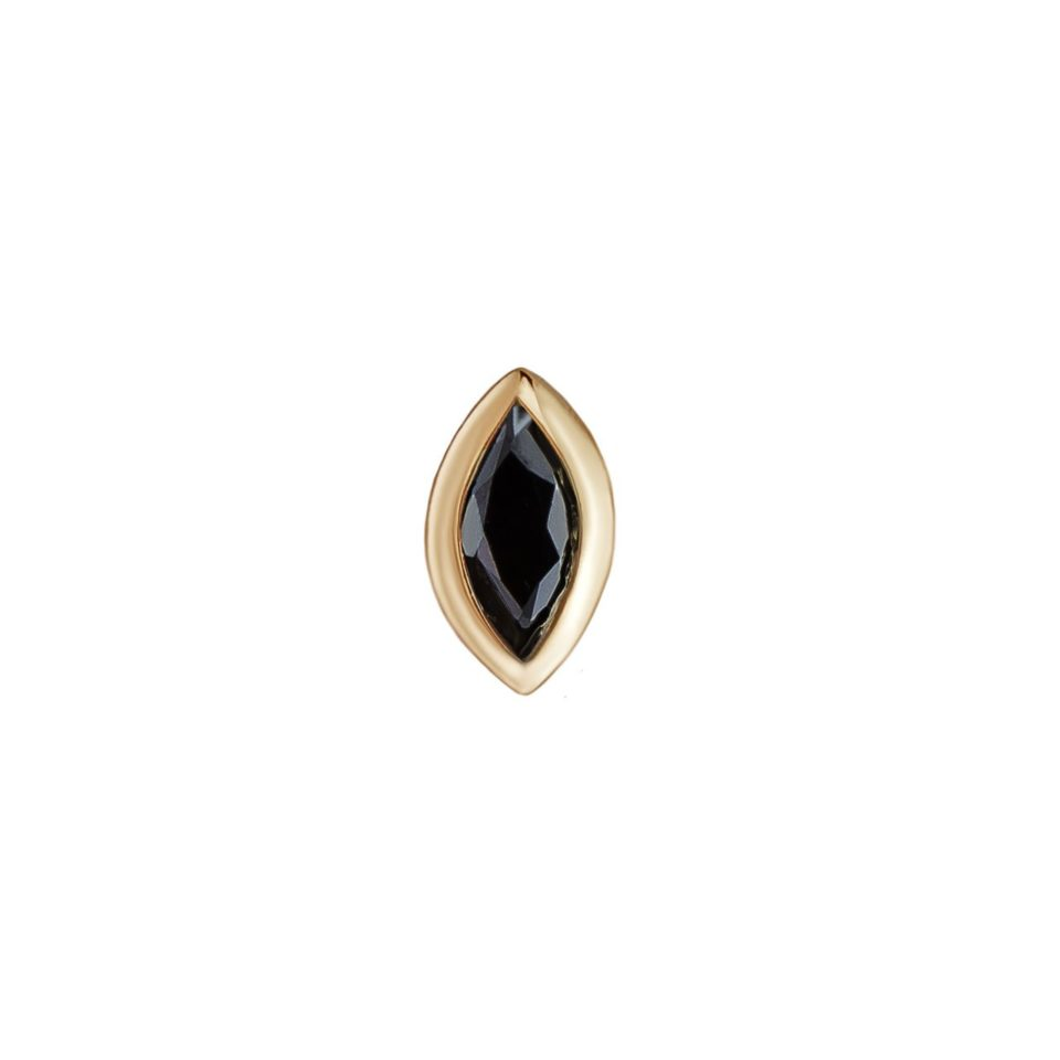 metier by tomfoolery: mini marquise bezel studsmetier by tomfoolery: mini marquise bezel studs