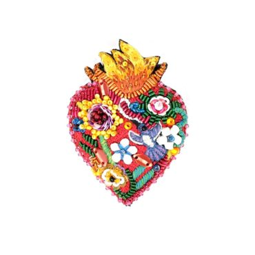 Trovelore, Flaming Heart Brooch