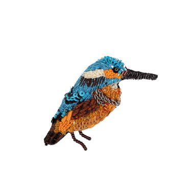 Trovelore, Kingfisher Brooch