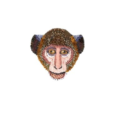 Trovelore, Rhesus Monkey Brooch