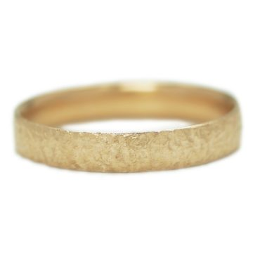 Maya Selway, Scattered 18ct Yellow Gold Wedding Band 4mm, Tomfoolery