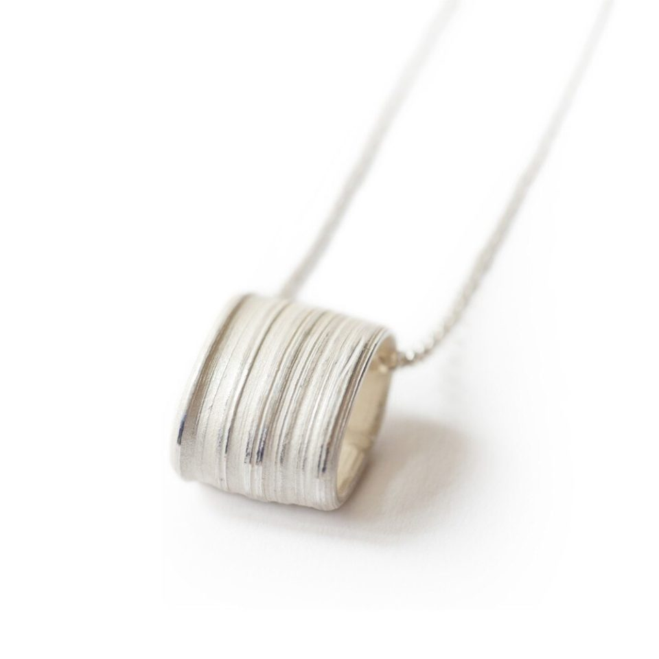 Marion Lebouteiller, Absolu Flow Silver Pendant Necklace, Tomfoolery