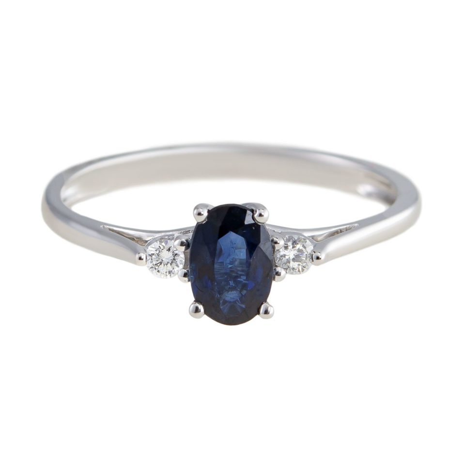 tf Collective, 9ct Stone and Diamond Ring, Tomfoolery