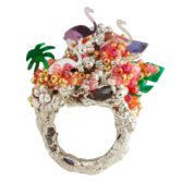 Tomfoolery, Maud Traon, One of a Kind 'Peaceful Eden' Art Ring