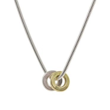 tomfoolery, Latham and Neve, Ripples Pendant Snake Necklace