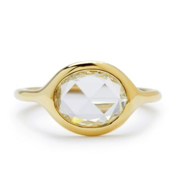 Diana Mitchell, tomfoolery, Oval Rose Cut Diamond Ring
