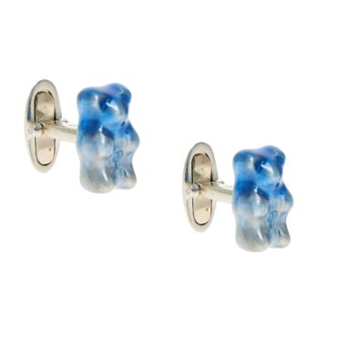 tomfoolery, Magoosh, Blue Ombre Gummy Bear Cufflinks