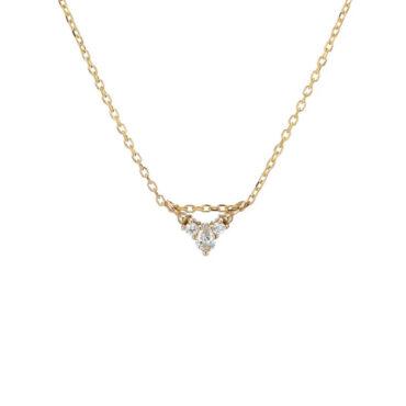 Tomfoolery; Diamond Peak Necklace, Jennie Kwon