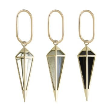 metier by tomfoolery: large oval clicker & pendulum plaques
