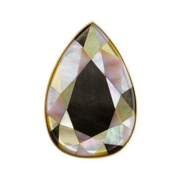 Tomfoolery, Melanie Georgacopoulos, One of Kind 'Pear' Art Ring