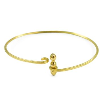 Margaux Clavel, 18ct Yellow Gold and Diamond Circa Bracelet, Tomfoolery