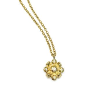 Margaux Clavel, 18ct Yellow Gold Helios Pendant, Tomfoolery