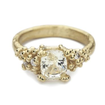 Ruth Tomlinson, Yellow Sapphire and Diamond Encrusted Ring, Tomfoolery