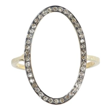 Tomfoolery; Mille Oval Diamond Ring, 5th October