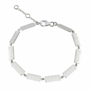 Tomfoolery: Flat Rectangle Chain Bracelet, Everyday by tomfoolery