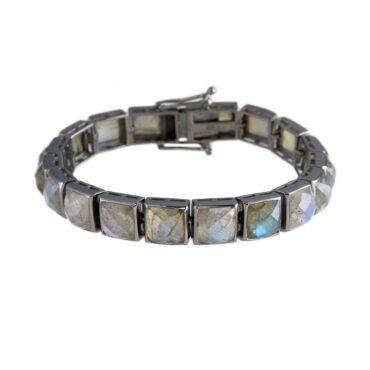 Large Labradorite Tennis Bracelet, tomfoolery, Nak Armstrong