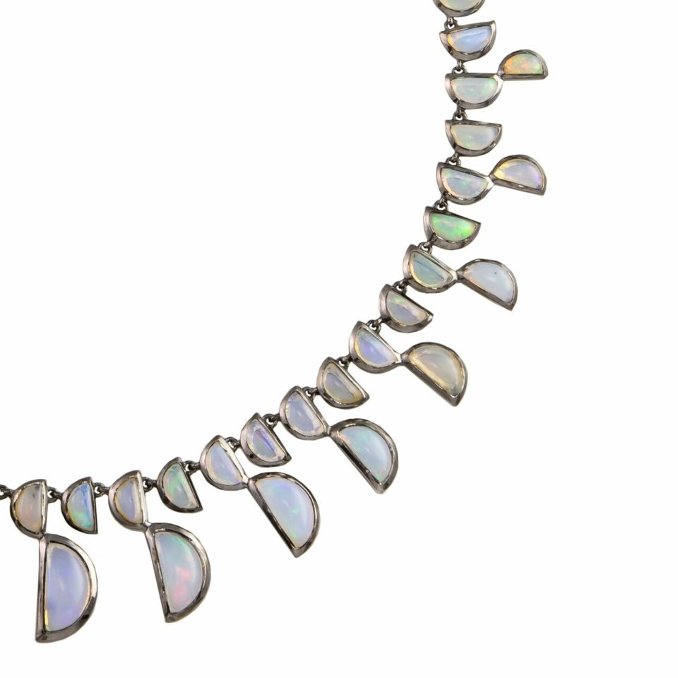 Ethiopian Opal Centipede Necklace, tomfoolery, Nak Armstrong