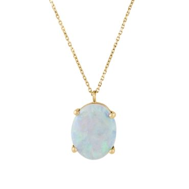 Limited Edition Medium Opal Pendant Necklace,wwake, tomfoolery