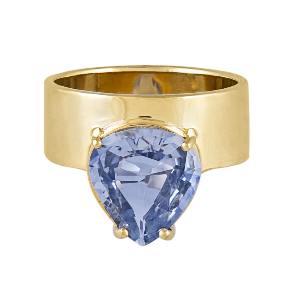 One of A Kind 'Monolith' Sapphire Ring, Tomfoolery, WWAKE