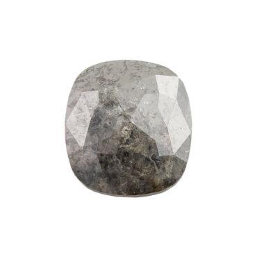 Tomfoolery, 1.85ct Grey Cushion Rose Cut Diamond, tf Stones