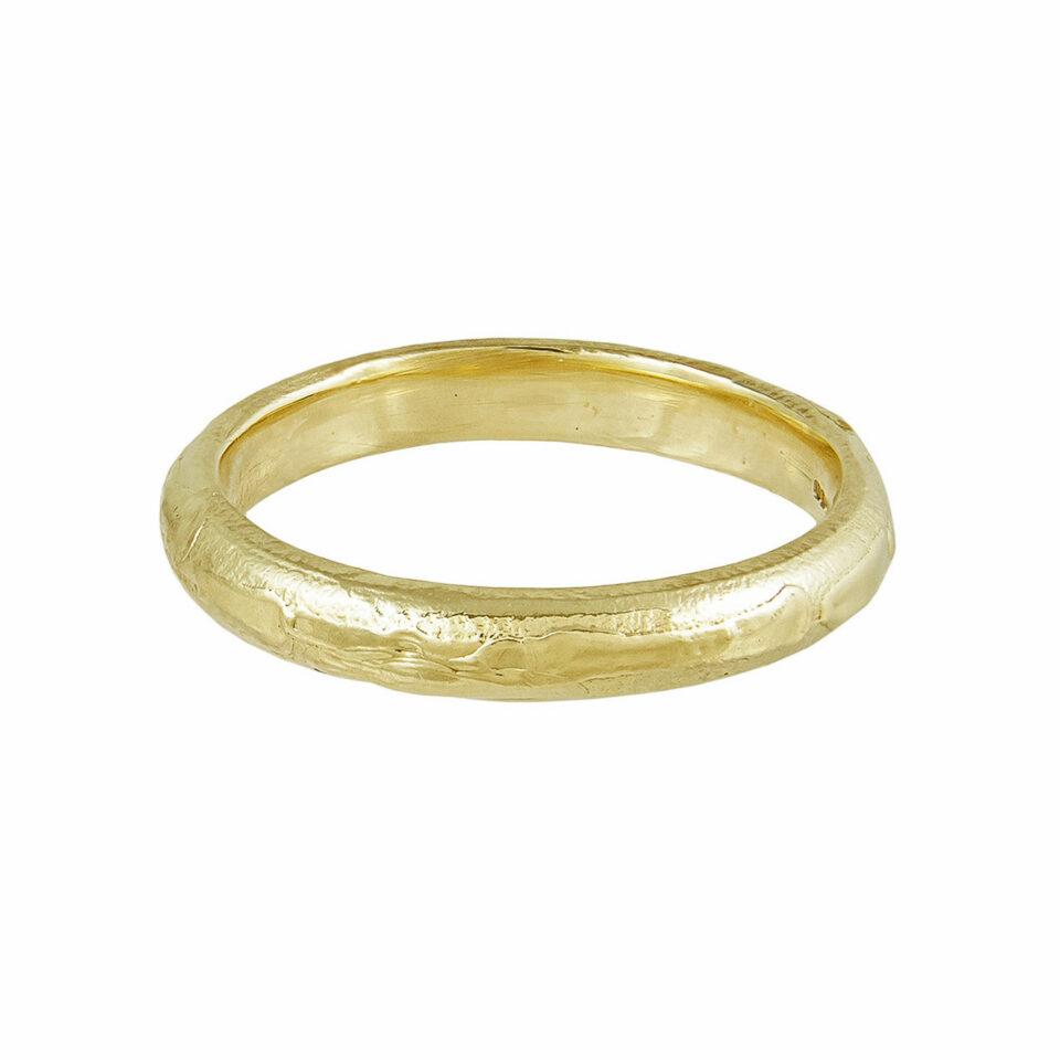 tomfoolery, Ellis Mhairi Cameron, 14ct Yellow Gold 3mm Wedding Ring