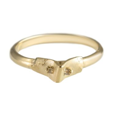 tomfoolery, atelier narce,  Diamond Baguette 14ct Ring