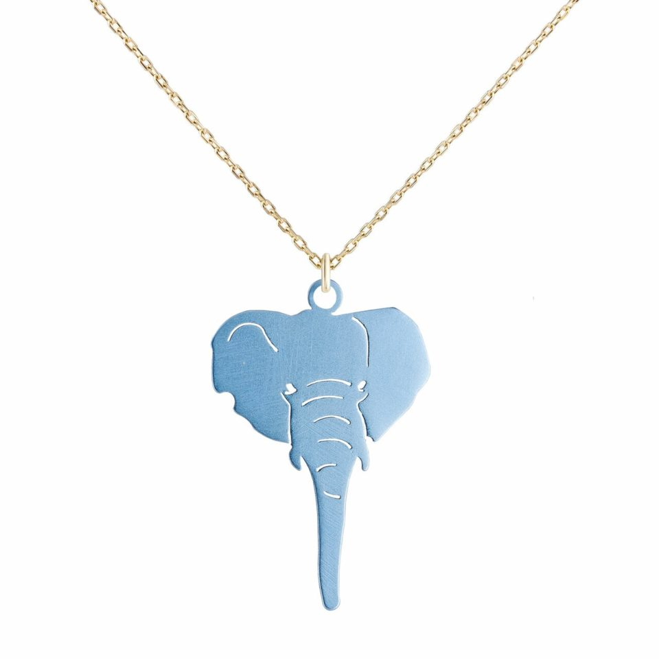 metier by tomfoolery: Elephant Necklace