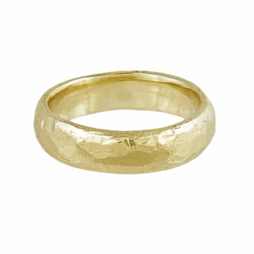 tomfoolery, Ellis Mhairi Cameron,14ct Yellow Gold 5mm Wedding Ring