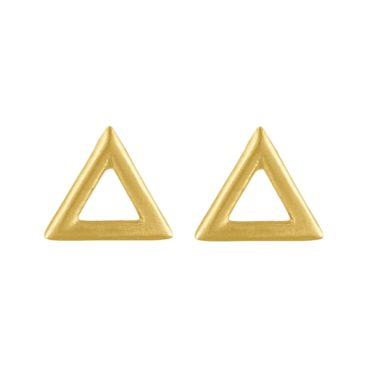 tomfoolery: Curve Triangle Studs, Everyday by tomfoolery