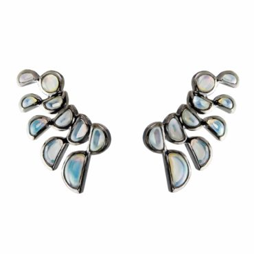 tomfoolery, Nak Armstrong,Ethiopian Opal Lobster Stud Earrings