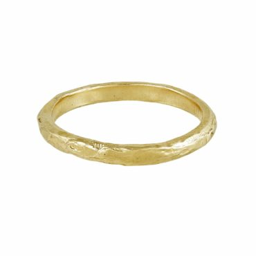 tomfoolery, 14ct Yellow Gold 2mm Wedding Ring, Ellis Mhairi Cameron
