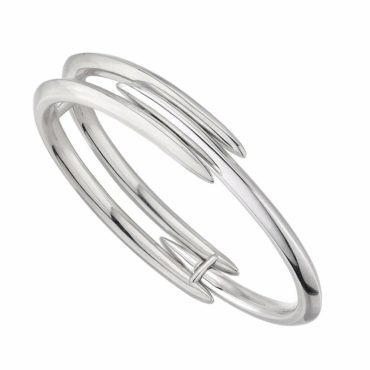 Shaun Lean, Silver Arc Triple Bangle, tomfoolery