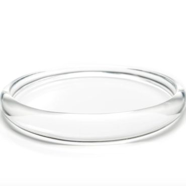 Tomfoolery, Alexis Bittar,Skinny Tapered Transparent Bangle