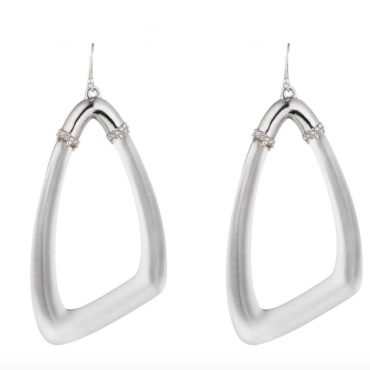 Alexis bittar, Tomfoolery London,Large Loop Lucite Earrings