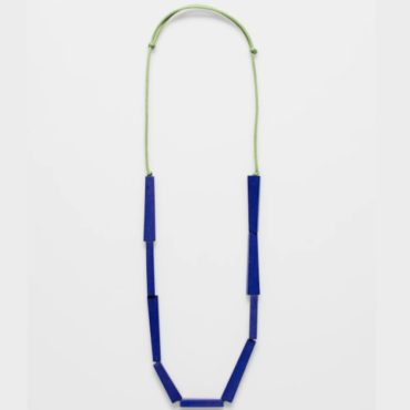tomfoolery, elk, Green & Blue Vakern Necklace