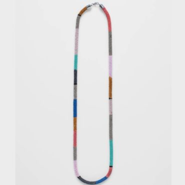 tomfoolery, elk, Pastel Multicolour Blok Necklace