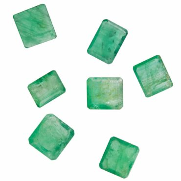 Tomfoolery, Selection Of Rectangle Emerald, tf stones