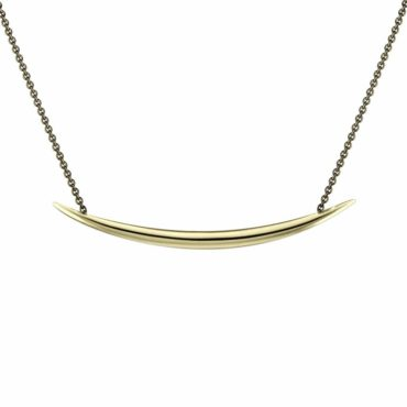 Shaun Leane, Yellow Gold Vermeil Quill Pendant, tomfoolery