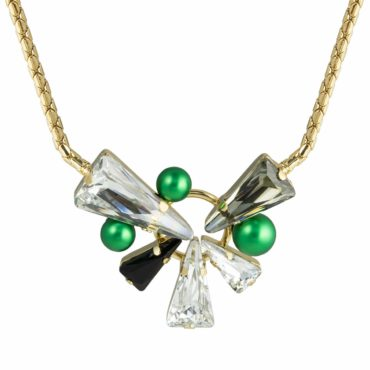 Daenarys Crystal Statement Necklace, Tomfoolery, Philippe Ferrandis,