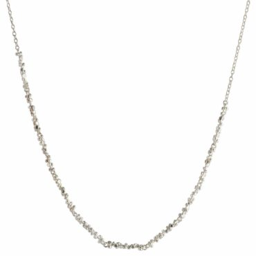 Silver Cluster Everyday Necklace, emily collins, tomfoolery