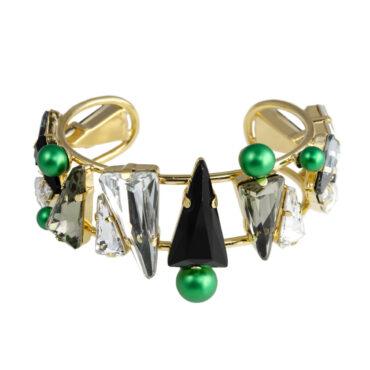 Daenarys Crystal Cuff Bracelet, Tomfoolery, Philippe Ferrandis,
